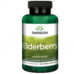 Elderberry 575 mg 120 vcapsules