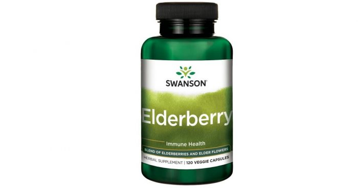 Elderberry 575 mg 120 vcapsules