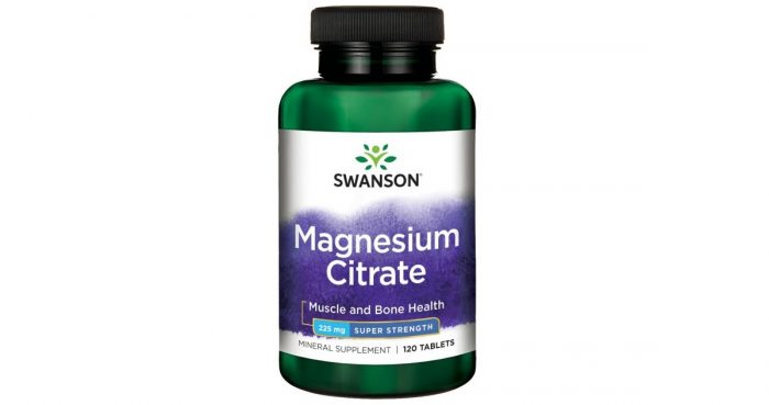 Magnesium Citrate 225 mg 120 tables