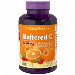 Buffered C 1000 mg with Bioflavonoids 200 coated caplets