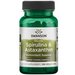 Spirulina and Astaxanthin 120 vtabs