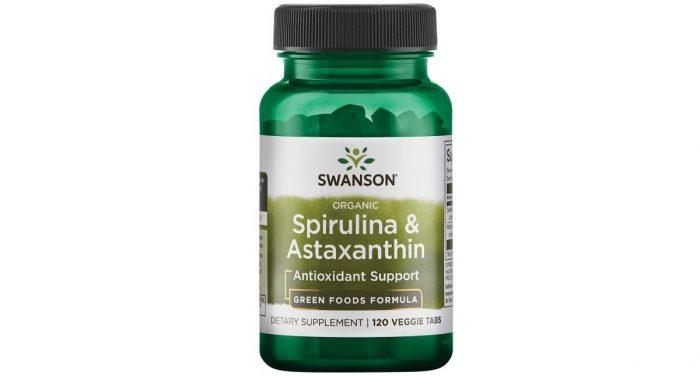 Spirulina and Astaxanthin 120 vtabs