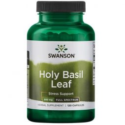 Holy Basil Leaf 400 mg 120 caps