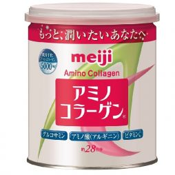 Meiji Collagen Powder in can