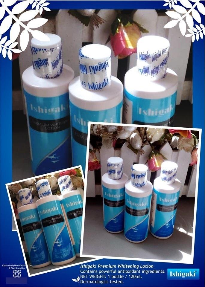 Ishigaki Premium Whitening Lotion 120 ml