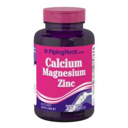 Calcium Magnesium Zinc 300 coated caplets