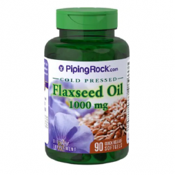 Flaxseed Oil 1000 mg 90 softgels