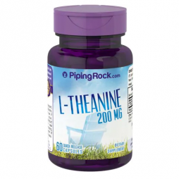 L-Theanine 200 mg 60 Capsules