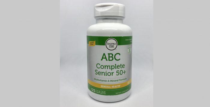 ABC Complete Senior 50+120caps