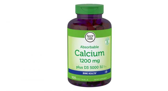 Calcium 1200mg with Vitamin D 5000iu 100 softgels
