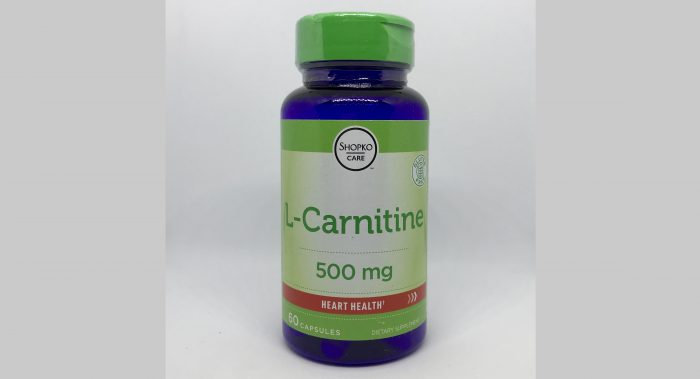 L-Carnitine 500mg 60caps