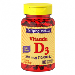 Vitamin D3 10,000iu 100 softgels