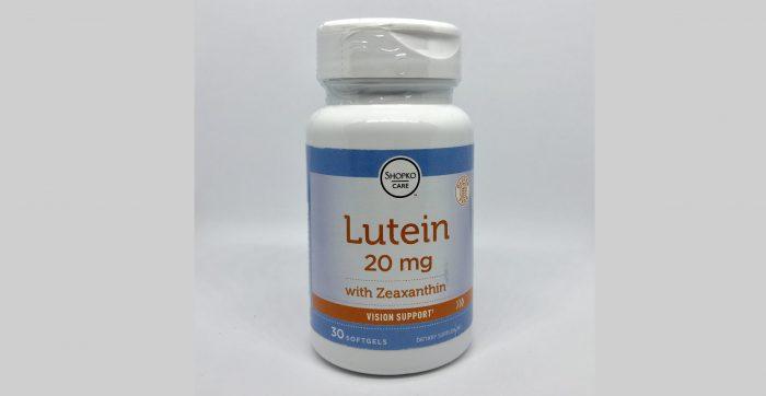 Lutein + Zeaxanthin 20mg 30softgels