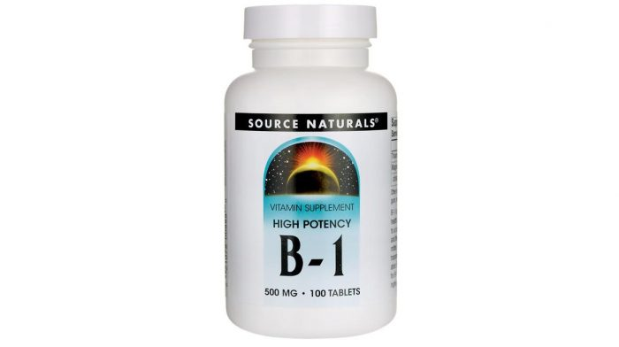 B-1 High Potency 500 mg 100 tablets