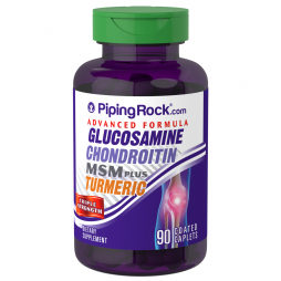 Glucosamine Chondroitin MSM Plus Turmeric 90 caps