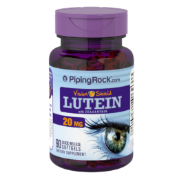 Lutein with Zeaxanthin 20 mg 90 softgels