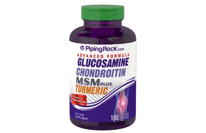 Triple Strength Glucosamine Chondroitin MSM Plus Turmeric 180 caps