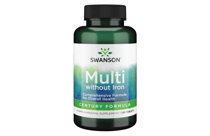 Multi without Iron Century Formula 130 tabs
